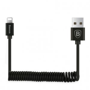 Кабель Baseus Elastic Data Cable USB - Lightning 160см для iPhone Черный