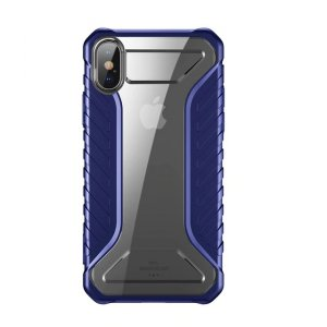 Чехол накладка Baseus Race Case для iPhone Xs Синий