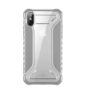 Чехол накладка Baseus Race Case для iPhone Xs Серый