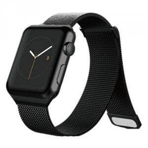Ремешок X-Doria Hybrid Mesh для Apple Watch 3 / 2 / 1 (38мм) Черный